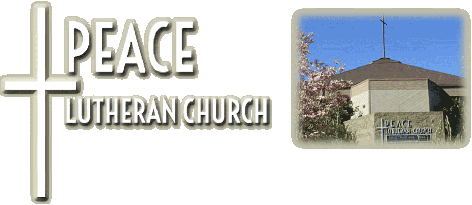 Peace Lutheran Church in Grass Valley California. A new website is currently being built. Expected Launch date is September 2014.