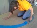 ELCA Work Day at Scotten school