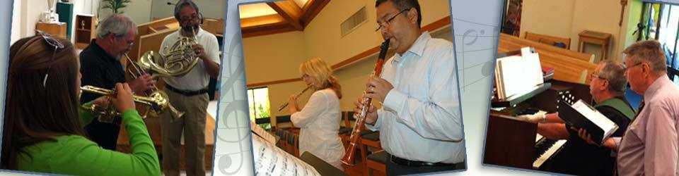 Staff Musicians at Peace Lutheran Church
