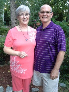 Pastor Eileen Smith LeVan and husband Brian