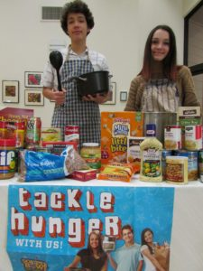 Help us tackle hunger during our Souper Bowl of Caring on Feb. 4!
