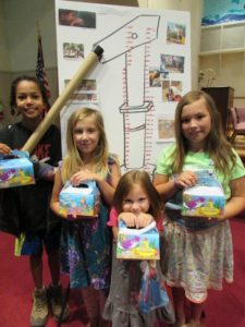 The theme of water will continue to flow through Rolling River Day Camp, offered by several area faith communities July 16-19 at the Grass Valley United Methodist Church. In previous years, the camp service project included raising money to fund the building of wells in developing countries.
