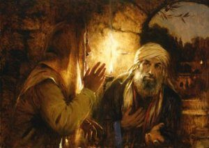 Nicodemus has questions for Jesus. He doesn't know his life is headed for a new beginning!