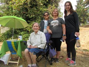 These folks took a walk on the Litton Trail in Grass Valley to help raise more than $4,000 for community-building in Rwanda,.