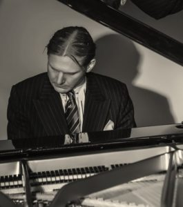 "San Francisco pianist Frederick Hodges performs ""A Fred Astaire Ragtime Revue"" at 4pm Sunday, April 29, at PEACE Lutheran Church."