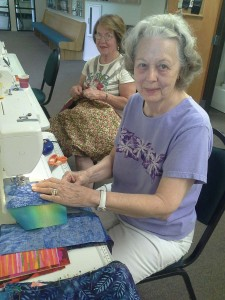 Peacemakers quilting group members