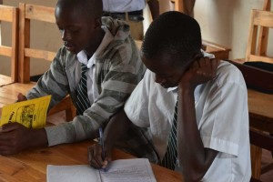Books about science and technology are among the needs of Rwamagana Lutheran School near Kigali, Rwanda.