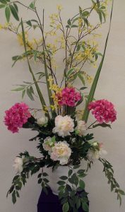 Easter flowers make our altar even more beautiful!