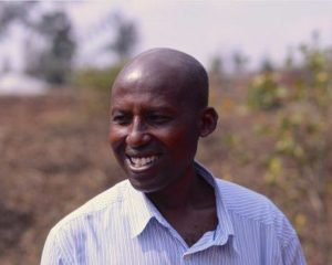 The Rev. John Rtinsindintwarane helps people organize to improve their lives in Rwanda.