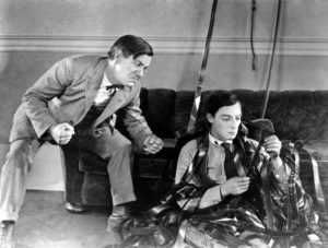 """Silent Movies with Walt Strony presents """"Sherlock Jr."""" among the """"Silent Film Medley"""" at 4 p.m. Sunday, Sept. 22, at PEACE Lutheran Church."""